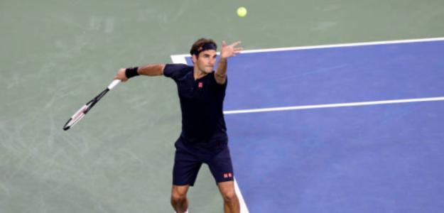 Roger Federer ya está en QF de Cincinnati. Foto: Getty