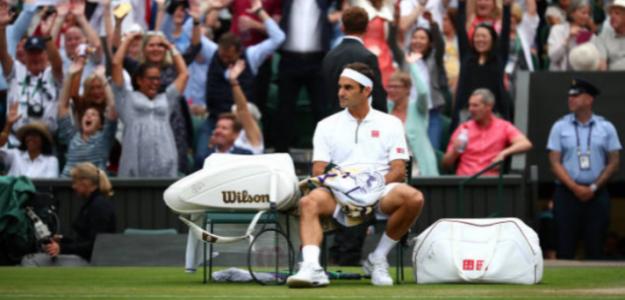 Roger Federer habló sobre la lentitud de las pistas este año en Wimbledon. Foto: Getty