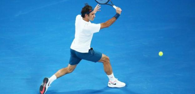 Federer sudó durante dos horas en su debut con Albot. Fuente: ATP
