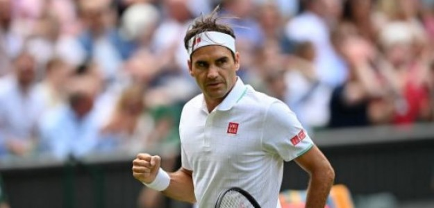 Roger Federer en competición. Foto: lainformacion.com