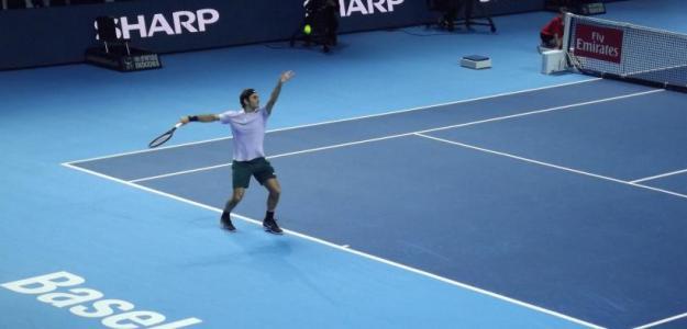 Roger Federer, dueño y señor de los records en Basilea. Foto: Carlos Coll