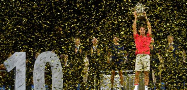 "Federer: "" El objetivo es llegar a Londres al cien por cien"". Foto: Getty"