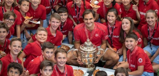 """El guardaespaldas de Federer: """"Roger es de los pocos tenistas con los pies en el suelo"""". Foto: Getty"""