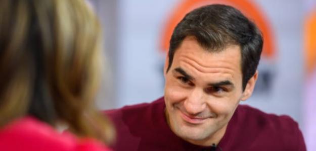 Federer responde a Greta. Foto: Getty