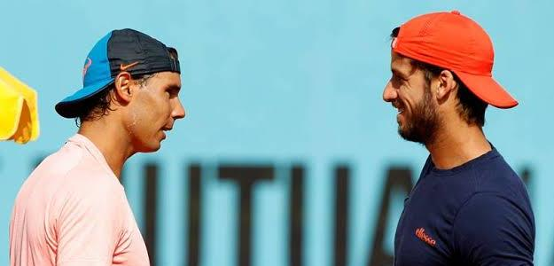 Nadal y Feliciano. Foto: Mutua Madrid Open