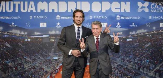 Feliciano López. Foto: Mutua Madrid Open