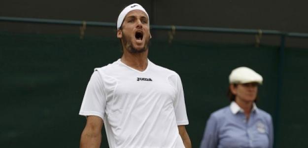 Feliciano López y su trayectoria en Wimbledon. Foto: gettyimages