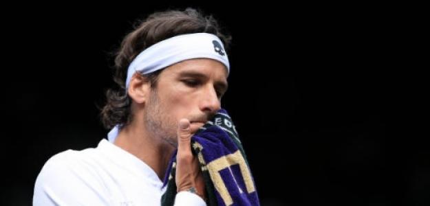 Feliciano López en Wimbledon. Foto: Getty Images