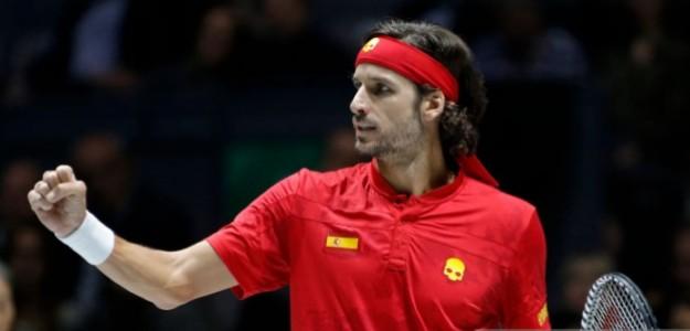 Feliciano López habló sobre las posibilidades de España de ganar la Davis. Foto: Getty