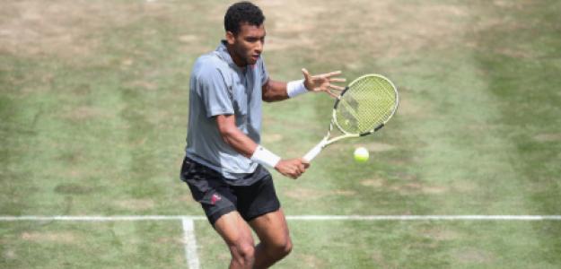Félix Auger-Aliassime y cómo ganar a Federer en hierba. Foto: gettyimages