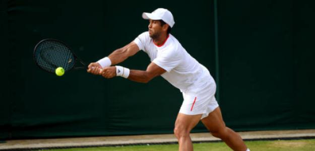 Fernando Verdasco en Wimbledon 2019. Foto: gettyimages