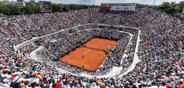 El Foro Itálico ya está listo para el mejor tenis sobre tierra batida antes de París.