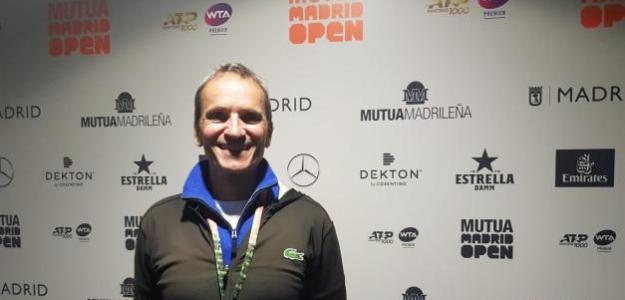 Entrevista con Fontang, entrenador de Aliassime. Foto: José Morón