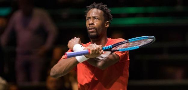 Monfils, tenista que más primeros saques resta del circuito. Foto: ATP