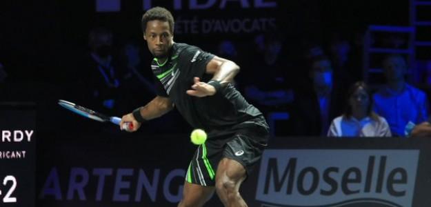 Gael Monfils en el Moselle Open. Fuente: ATP