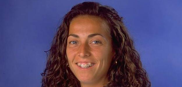 Gala León en su etapa como jugadora. Fuente: Getty