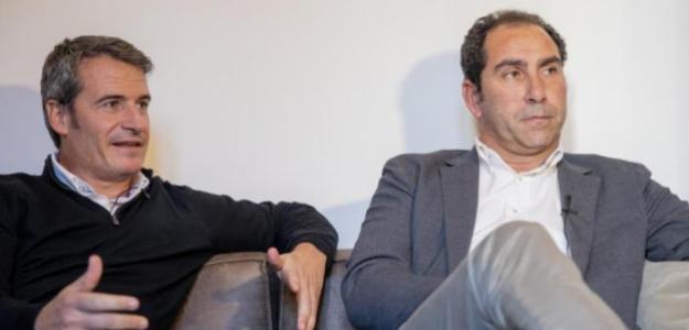 Galo Blanco y Albert Costa. Fuente: Marca