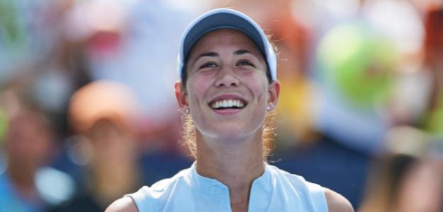 Garbiñe Muguruza en WTA International Monterrey 2019. Foto: zimbio
