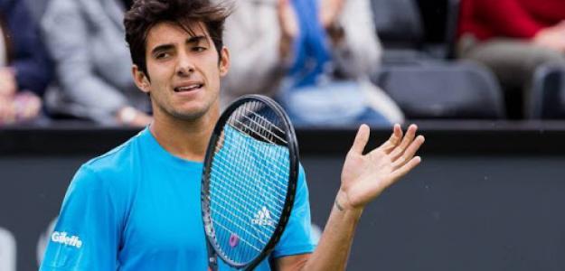 El chileno Garin ha ganado su primer partido ATP con 16 años. Foto:vtropen.cl