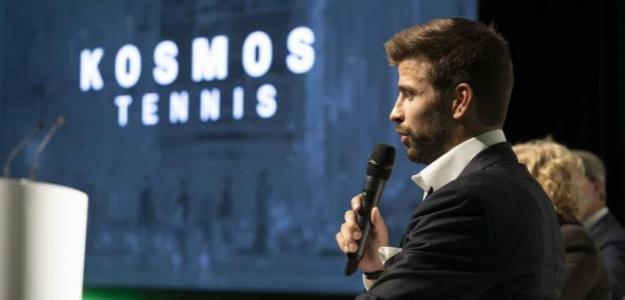 Gerard Piqué habla de Roger Federer y Copa Davis. Foto: gettyimages