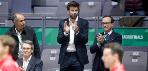 Gerard Piqué valora la Copa Davis 2019. Foto: gettyimages