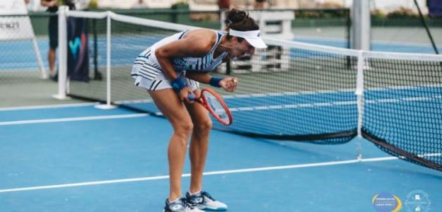 Georgina García Pérez, campeona en Portugal. Fuente: Racquet