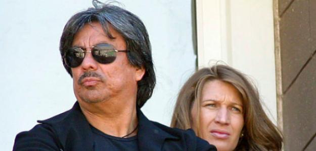 Gil Reyes junto a Steffi Graf. Fuente: Getty