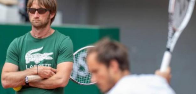 Cervara trabaja con Medvedev desde 2017. Foto: Getty