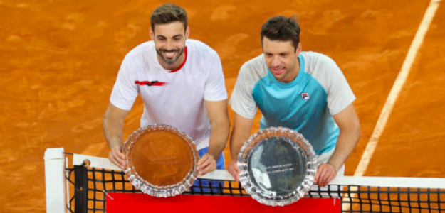Marcel Granollers y Horacio Zeballos, campeones en Madrid. Fuente: Getty