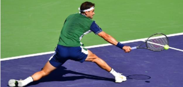 Grigor Dimitrov gana a Hurkacz en Indian Wells 2021. Foto: gettyimages