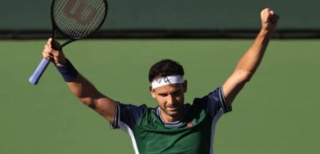 Dimitrov dio la sorpresa del día en Indian Wells. Foto: Getty