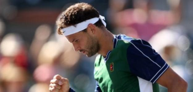 Dimitrov sigue avanzando en Indian Wells. Foto: Getty