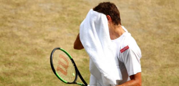 Guido Pella confesó sus dudas sobre su pasión acerca del tenis. Foto: Getty