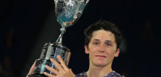 Harold Mayot, campeón del Open de Australia Junior. Fuente: Getty