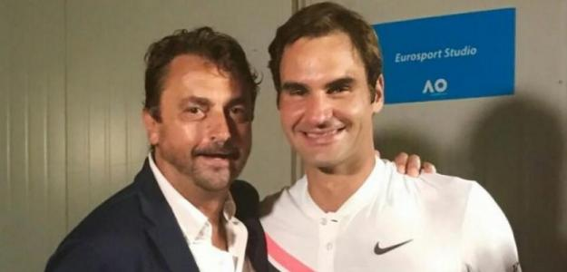 Henri Leconte habla de Federer y el Big 3. Foto: gettyimages