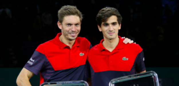 Mahut y Herbert, campeonas en París-Bercy. Fuente. Getty