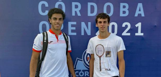 Francisco y Juan Manuel Cerundolo. Fuente: Cordoba Open
