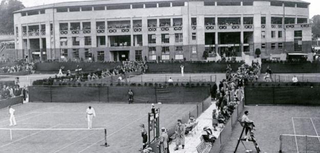 Bertrand Clark, primer tenista negro que jugó en Wimbledon. Foto: gettyimages