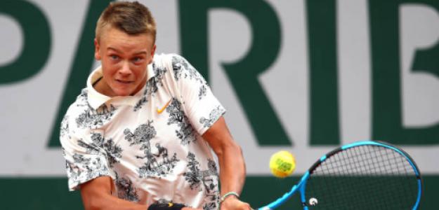 Holger Vitus Nodskor Rune, campeón junior de Roland Garros 2019. Foto: gettyimages