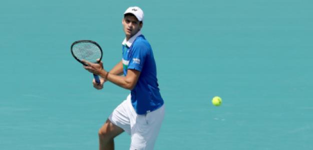 Hubert Hurkacz, veganismo en tenis de élite. Foto: gettyimages