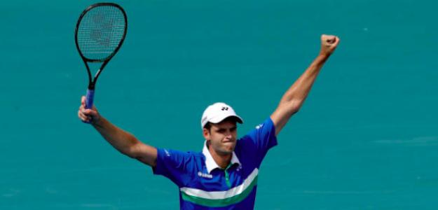 Hubert Hurkacz, campeón del Miami Open 2021. Fuente. Getty