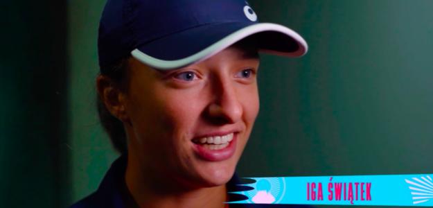 Iga Swiatek. Fuente. WTA
