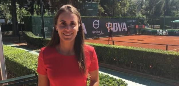 Anabel Medina, directora del BBVA Open Ciudad de Valencia. Fuente: Fernando Murciego