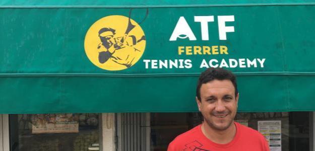 Javier Ferrer, fundador de la Academia Tenis Ferrer. Fuente: Fernando Murciego