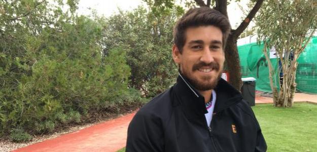 Orlando Luz durante la entrevista con Punto de Break. Fuente: Fernando Murciego