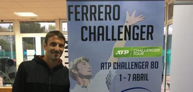 Tommy Robredo, uno de los grandes atractivos en Villena. Fuente: Fernando Murciego