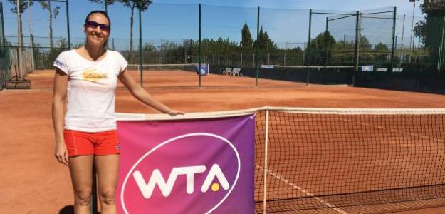 La valenciana estuvo entrenando en la Academia Lozano-Altur. Foto: Fernando Murciego
