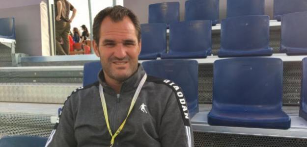 Carlos Martínez durante la entrevista. Foto: Fernando Murciego