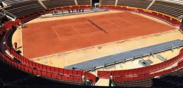 Así luce la Plaza de Toros de Valencia antes de recibir la Copa Davis. Fuente: Fernando Murciego