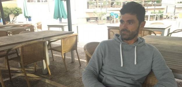 Julián Alonso durante la entrevista con Fernando Murciego.